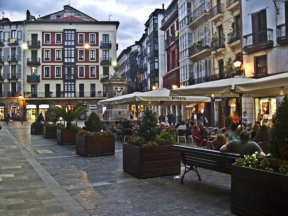 Casco Viejo em Bilbao