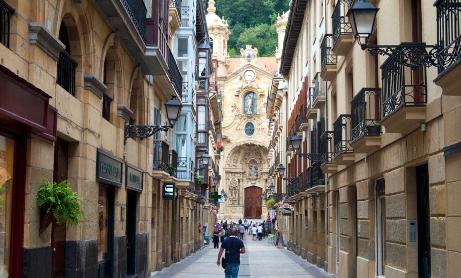Antiguo em San Sebastián