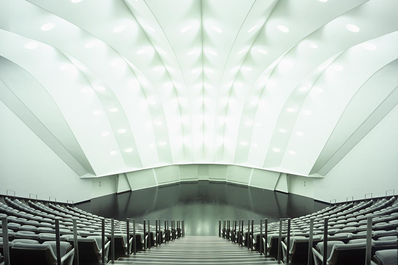 Interior do Auditório de Tenerife