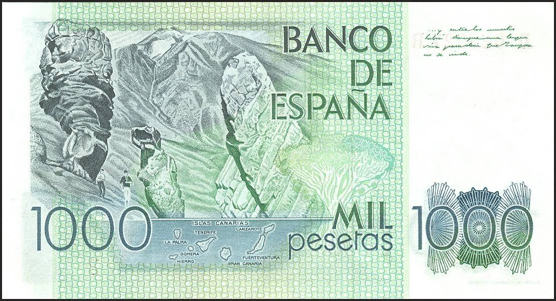 Mil pesetas