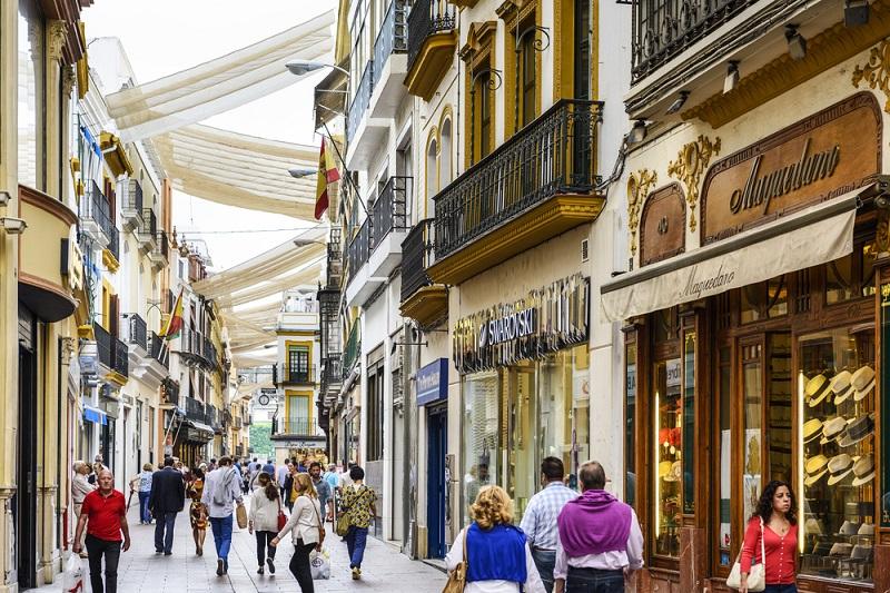 Compras em Sevillha
