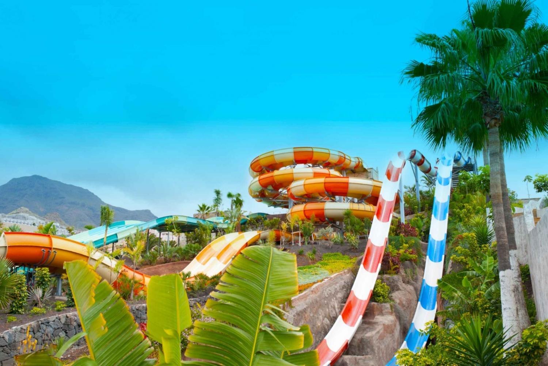 Vista do Aqualand Costa Adeje em Tenerife