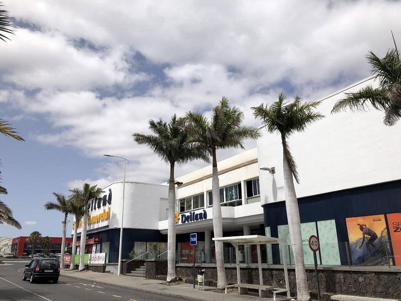 Vista do Shopping Deiland