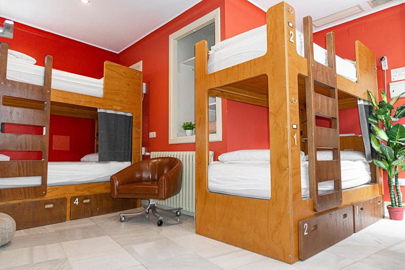 Dormitório do La Banda Rooftop Hostel