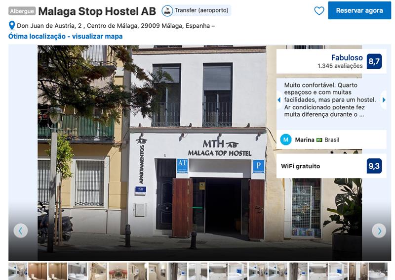 Malaga Stop Hostel AB