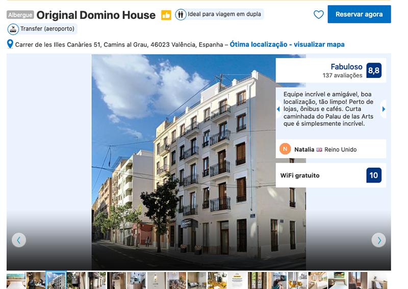 Original Domino House