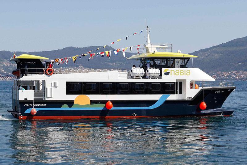 Ferries Naviera Nabia na Espanha