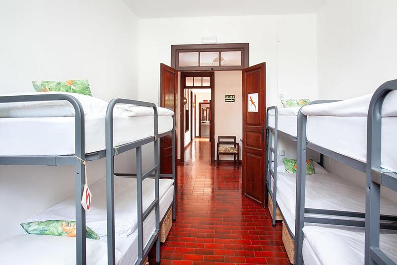 Dormitório do Patio Hostel