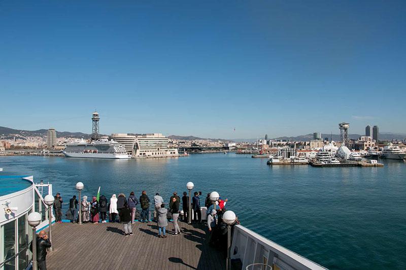 Empresa de ferries Balearia em Barcelona