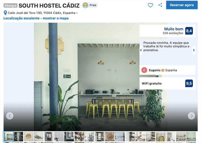 South Hostel Cádiz