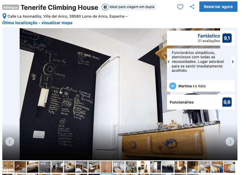 Tenerife Climbing House
