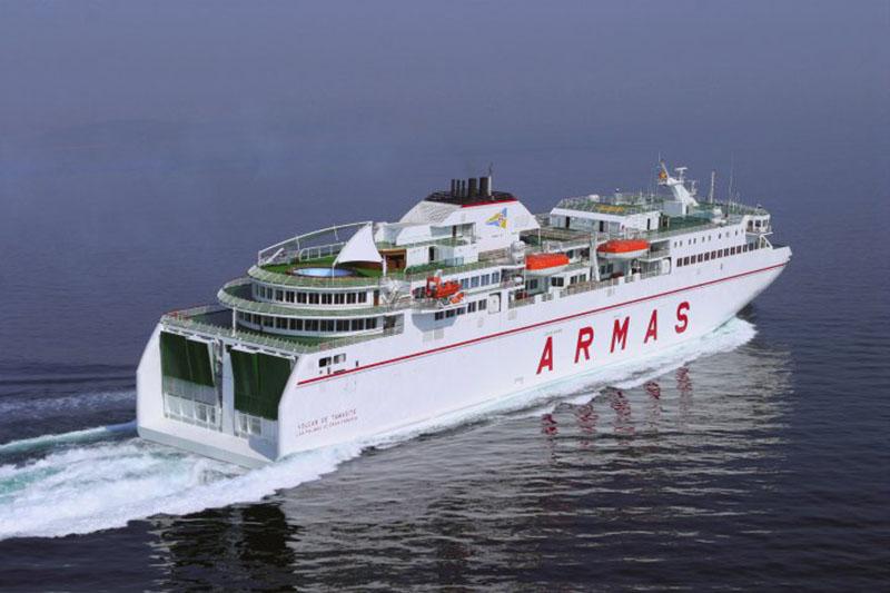 Empresa de ferries Naviera Armas na Espanha